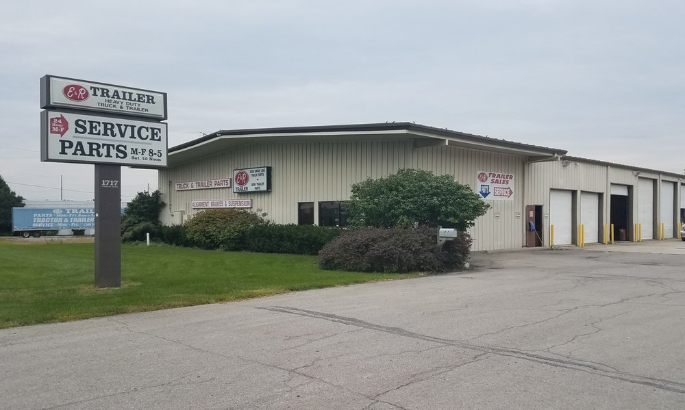 E&R Trailer Sales & Service: 1717 Findlay Rd, Lima, OH