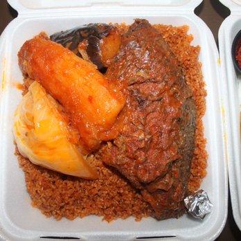 Photo Of Bantaba African Restaurant Lynnwood Wa United States Fish Benachin