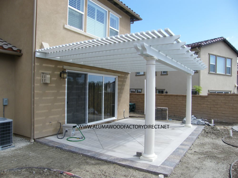 Alumawood Laguna Lattice Patio Cover In Aliso Viejo