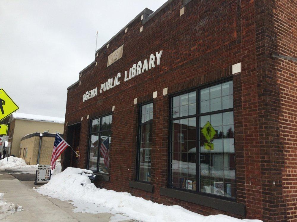Ogema Public Library: W5005 State Highway 86, Ogema, WI