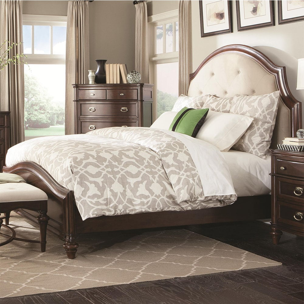 Coaster Sherwood California King Bed With Upholstered Headboard 203611kw Yelp