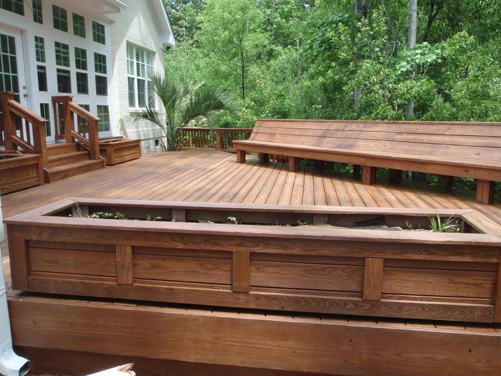 Cedar tone deck stain yelp - Exterior power washing garner nc ...