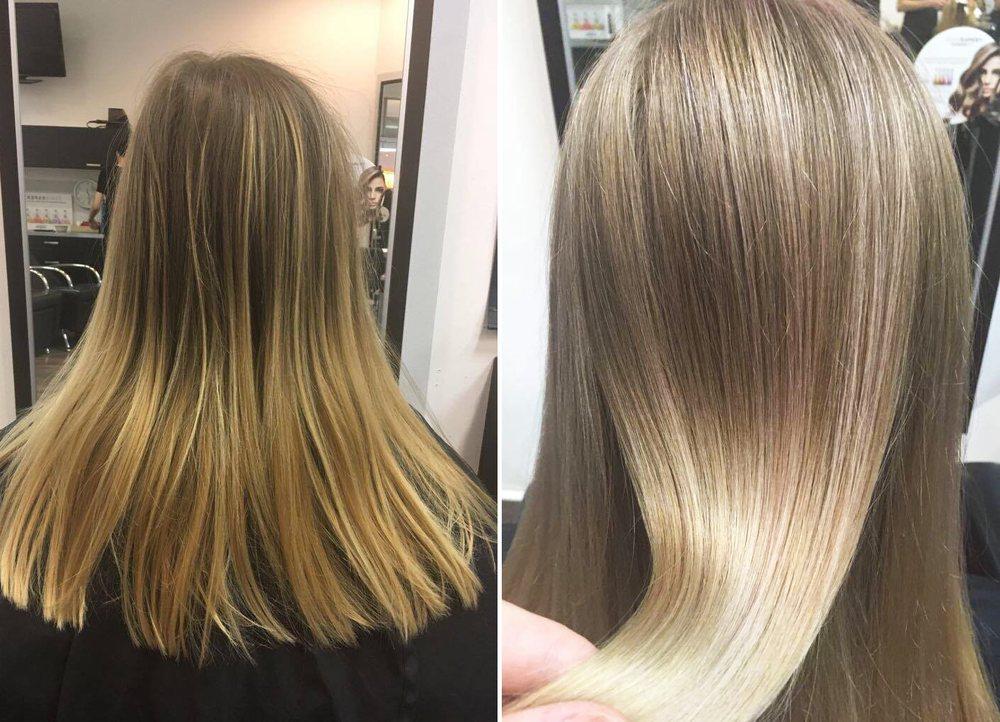 Haarfarben pastell