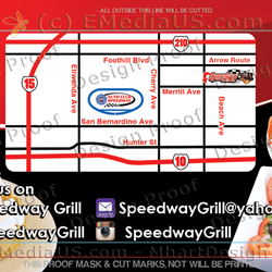 Speedway grill 43 photos 39 reviews burgers 8922 beech ave photo of speedway grill fontana ca united states business card reheart Images