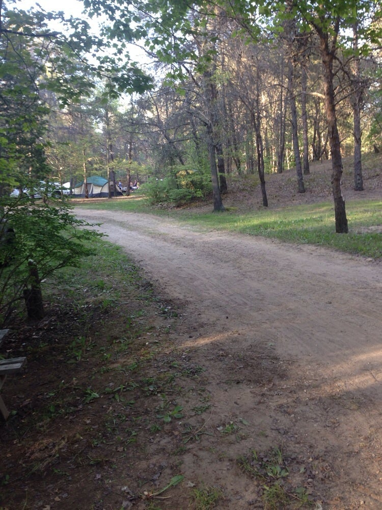 Dune Lake Campground: 80855 County Rd 376, Coloma, MI