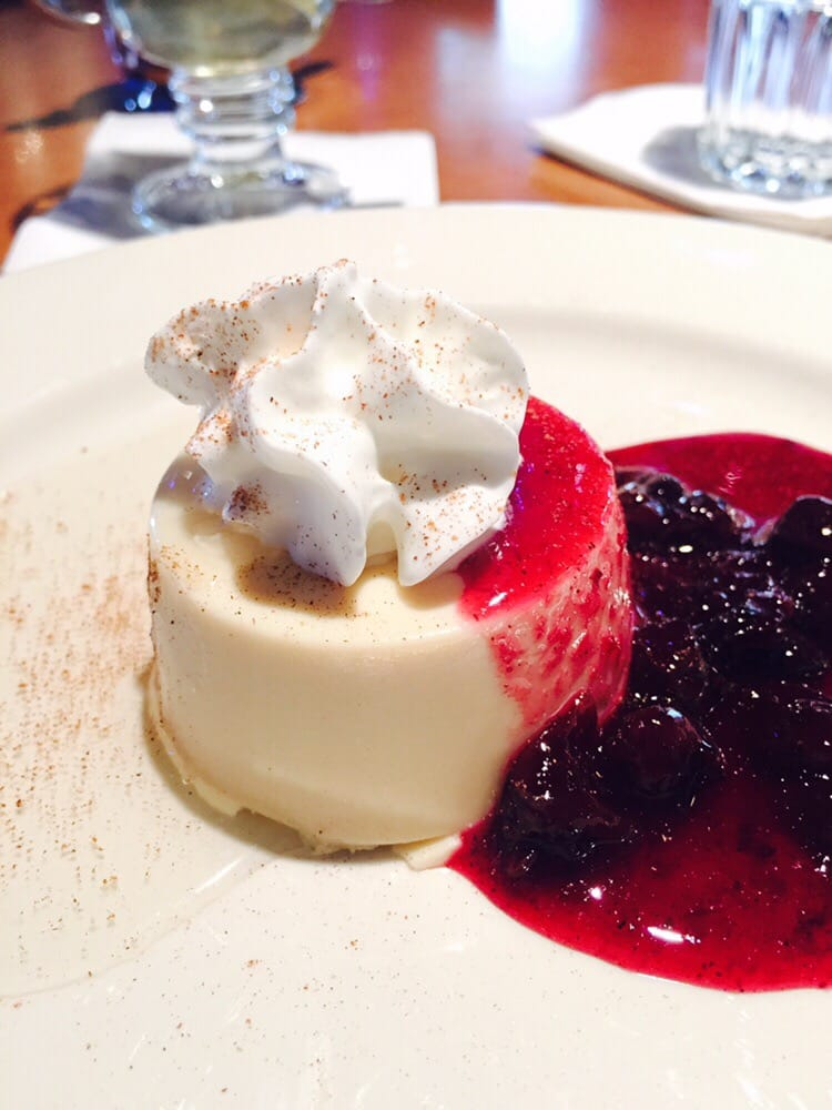 So good just enough for onelemon panna cotta with for Adriatic cuisine