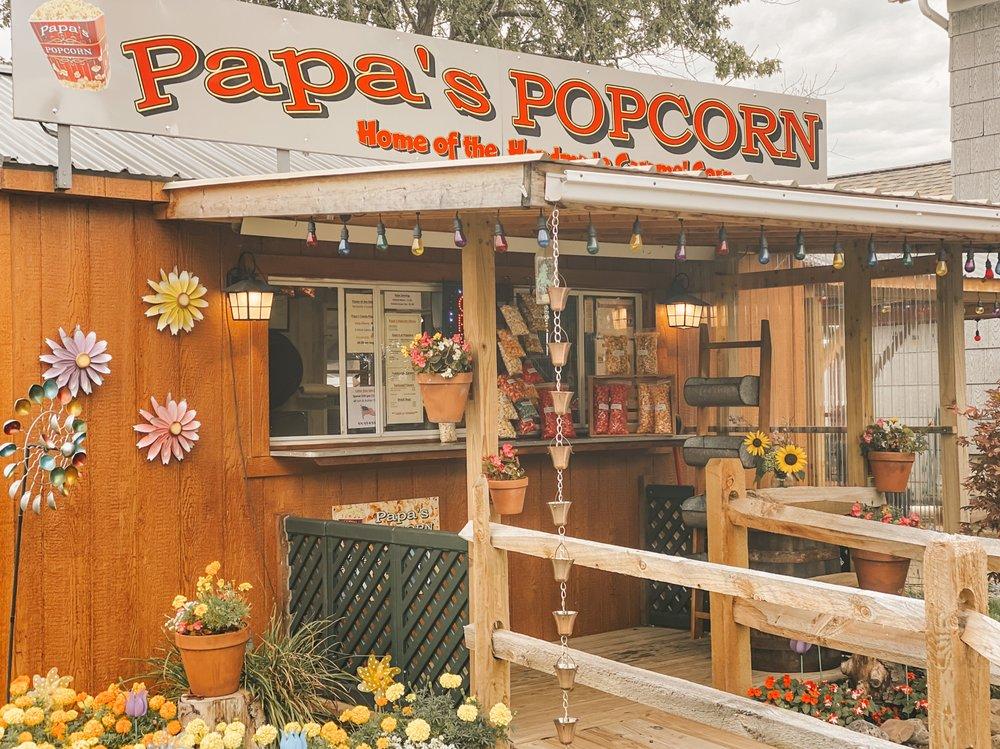 Papa's Popcorn: 6610 Goodrich Rd, Clarence Center, NY