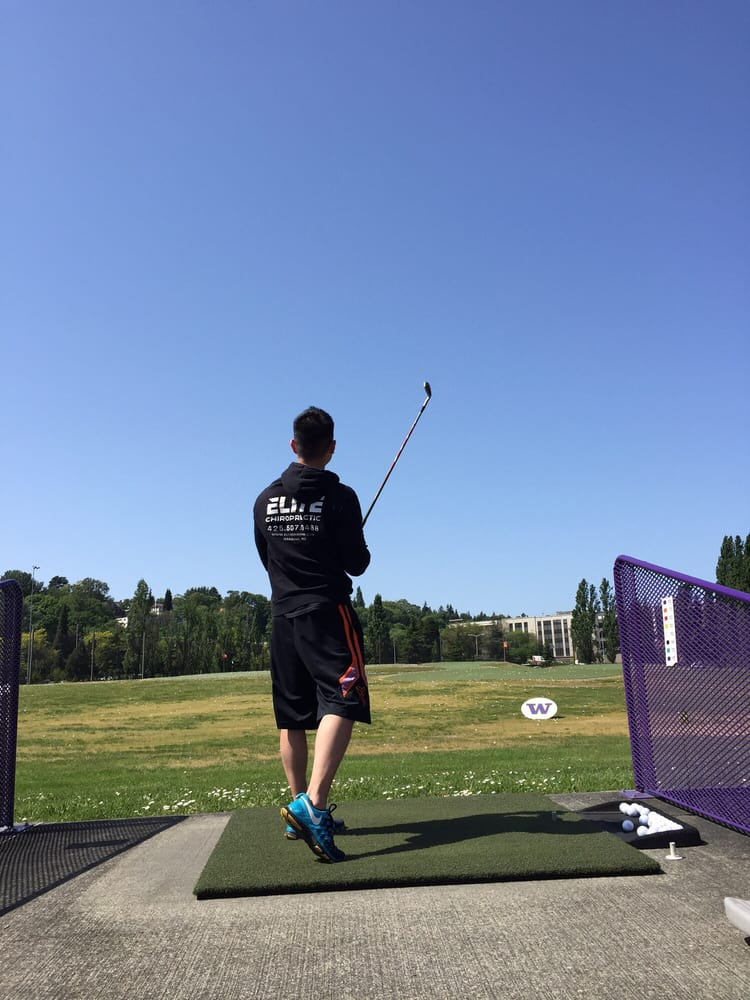 University of Washington Golf Driving Range