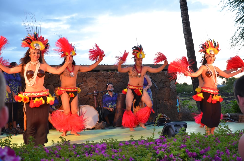 Photo Of Waikoloa Beach Marriott Sunset Luau Village Hi United States
