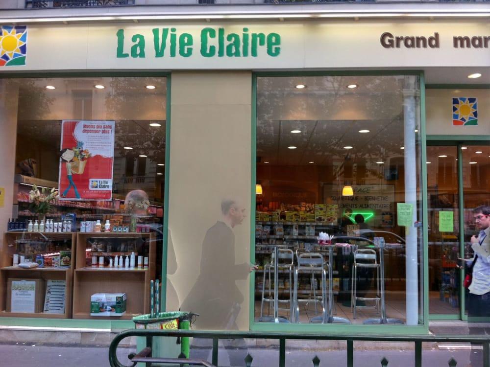 La vie claire prodotti biologici 85 bd haussmann saint lazare grands magasins parigi for Mauve la vie claire