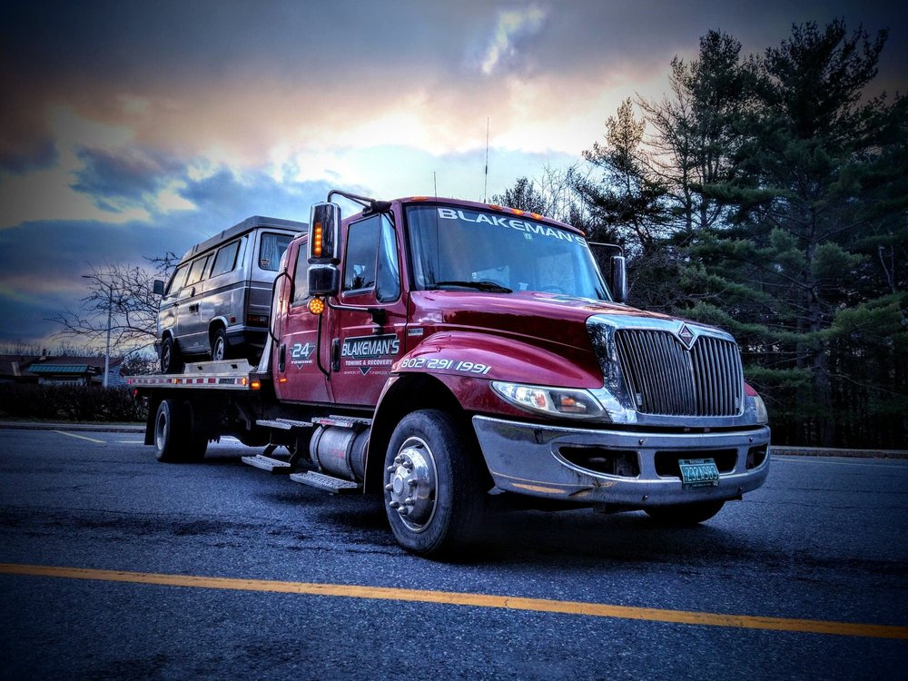 Blakeman's Towing Recovery: 354 Moore Rd, South Royalton, VT