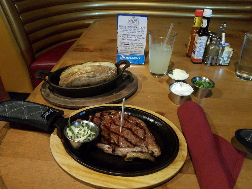 Apache Prime Steakhouse: 5 US Hwy 70, San Carlos, AZ