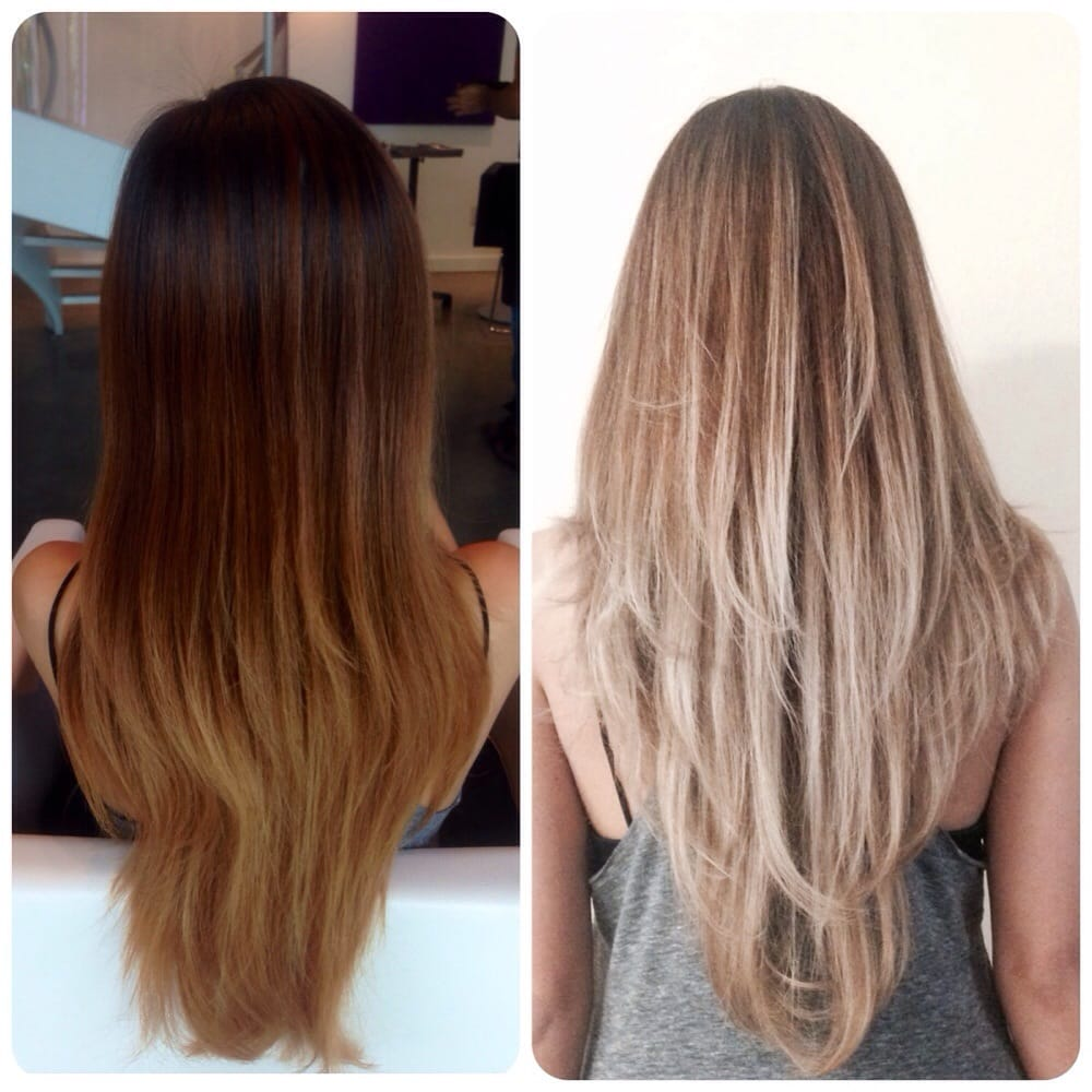 Before And After Balayage Ombr 233 By Kat Yelp