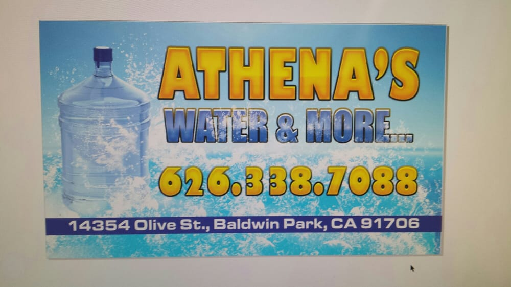 Athena's Water and More: 14354 Olive St, Baldwin Park, CA
