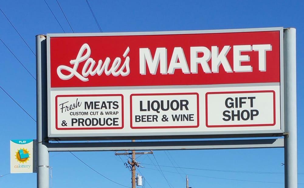 Lane's Market: 109 S Pine St, Dorris, CA