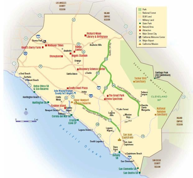 irvine california map with The Toll Roads Irvine on Laguna Beach furthermore C usmap as well Modesto California Map likewise Index additionally Honda Center.