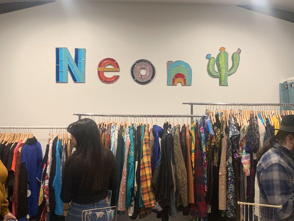 Neon Cactus Vintage
