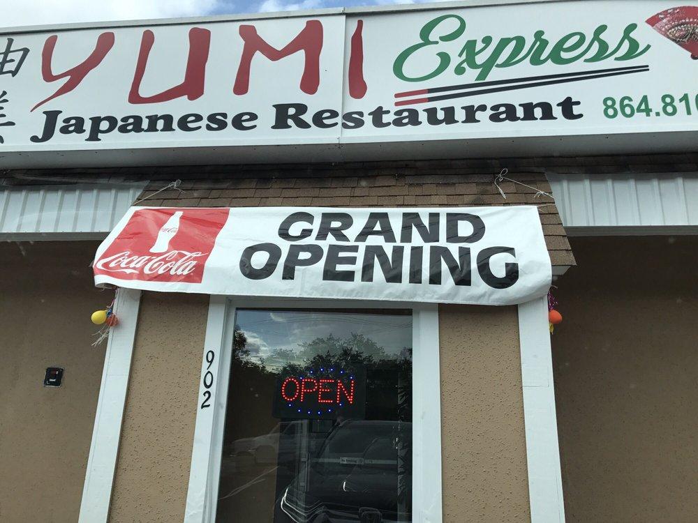 Yumi Express Japanese Restaurant: 902 W Main St, Easley, SC