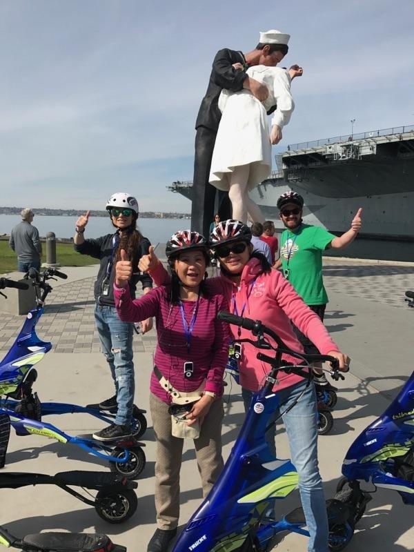 Paradise Trike Tours: San Diego, CA