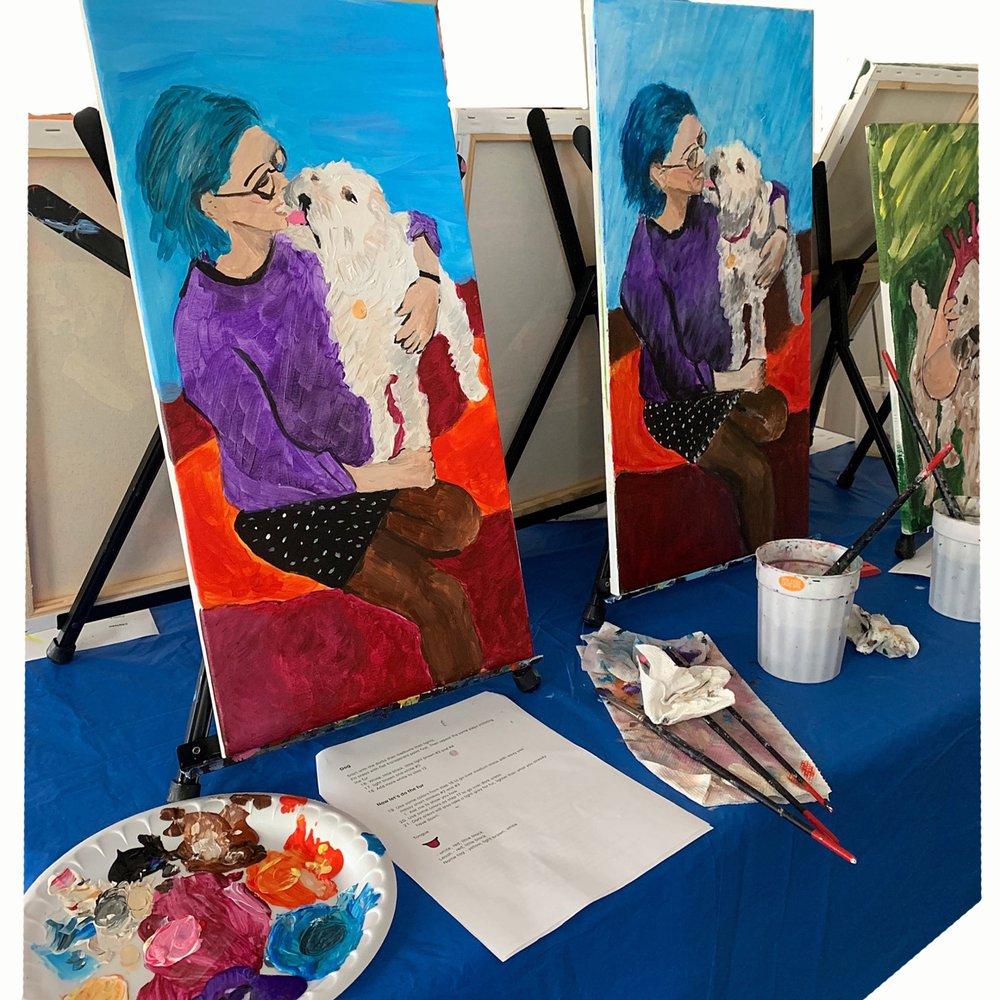 Paint With Me Boston: Boston, MA