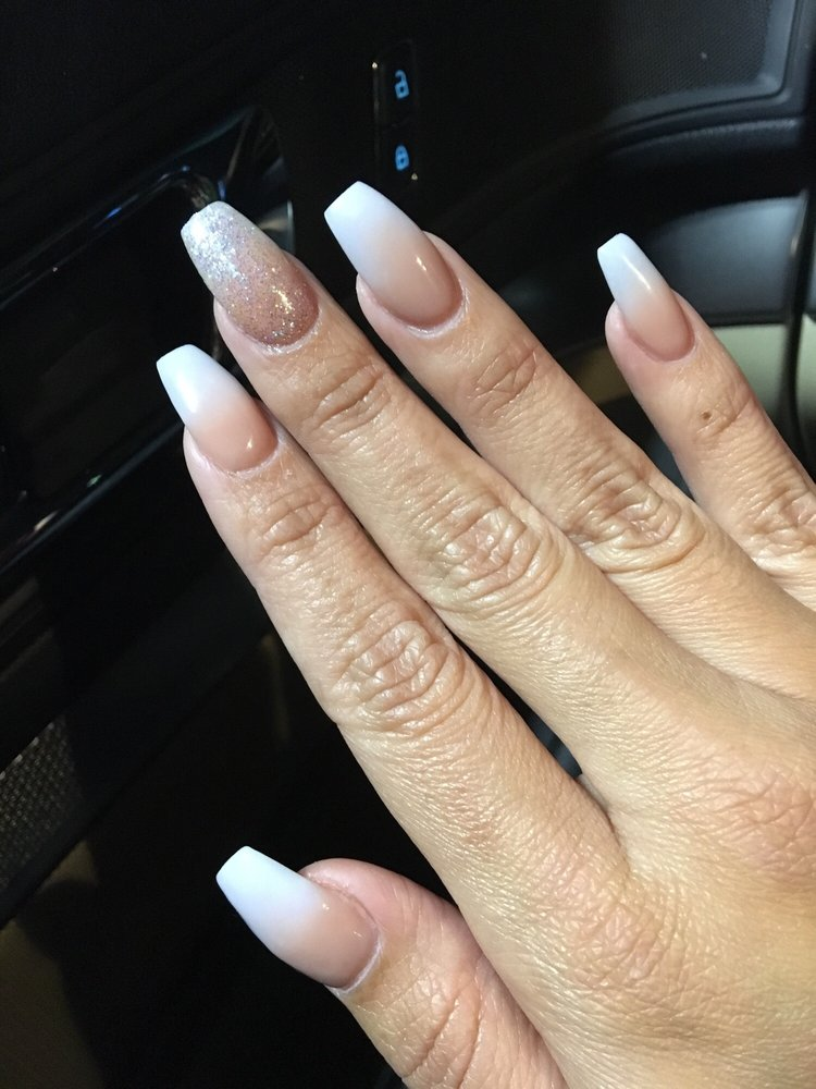 Ombre Acrylic Gel Nails Yelp
