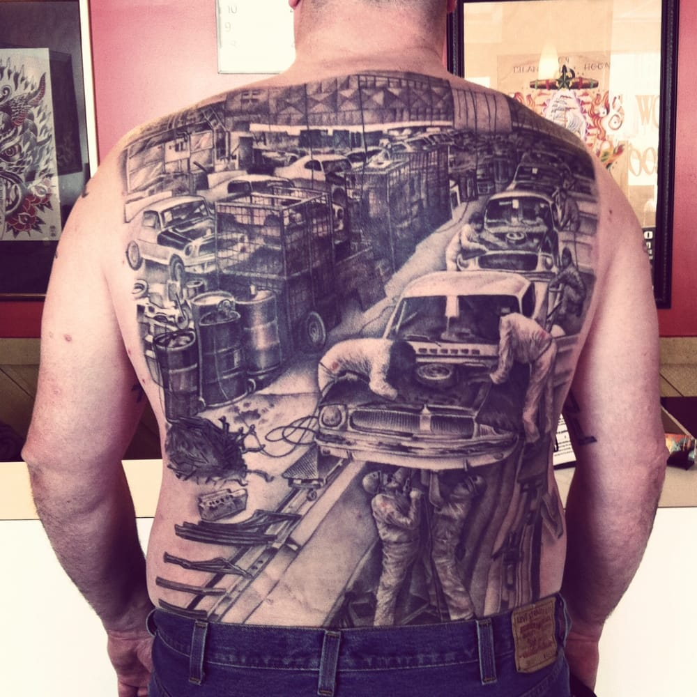 tattoo by joe johns awarded most realistic at the