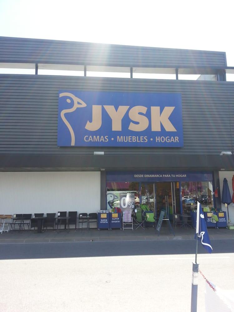 Jysk tiendas de muebles c c m laga nostrum m laga for Telefono registro bienes muebles madrid