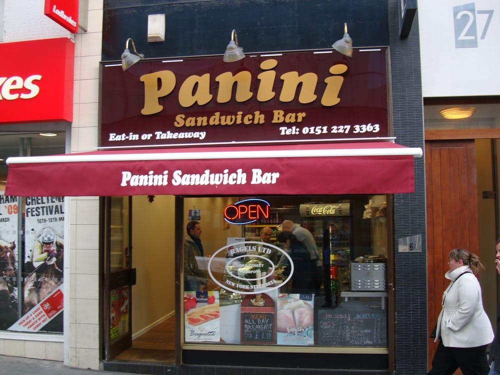 Panini Sandwich Bar