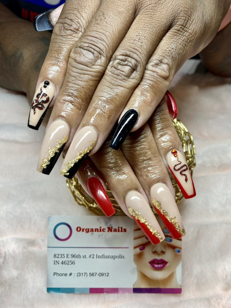 Organic Nails: 8235 East 96th St, Indianapolis, IN