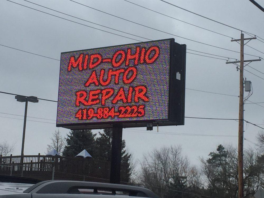 Mid-Ohio Auto Repair: 187 E Main St, Lexington, OH