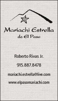 Mariachi Estrella de El Paso: El Paso, TX