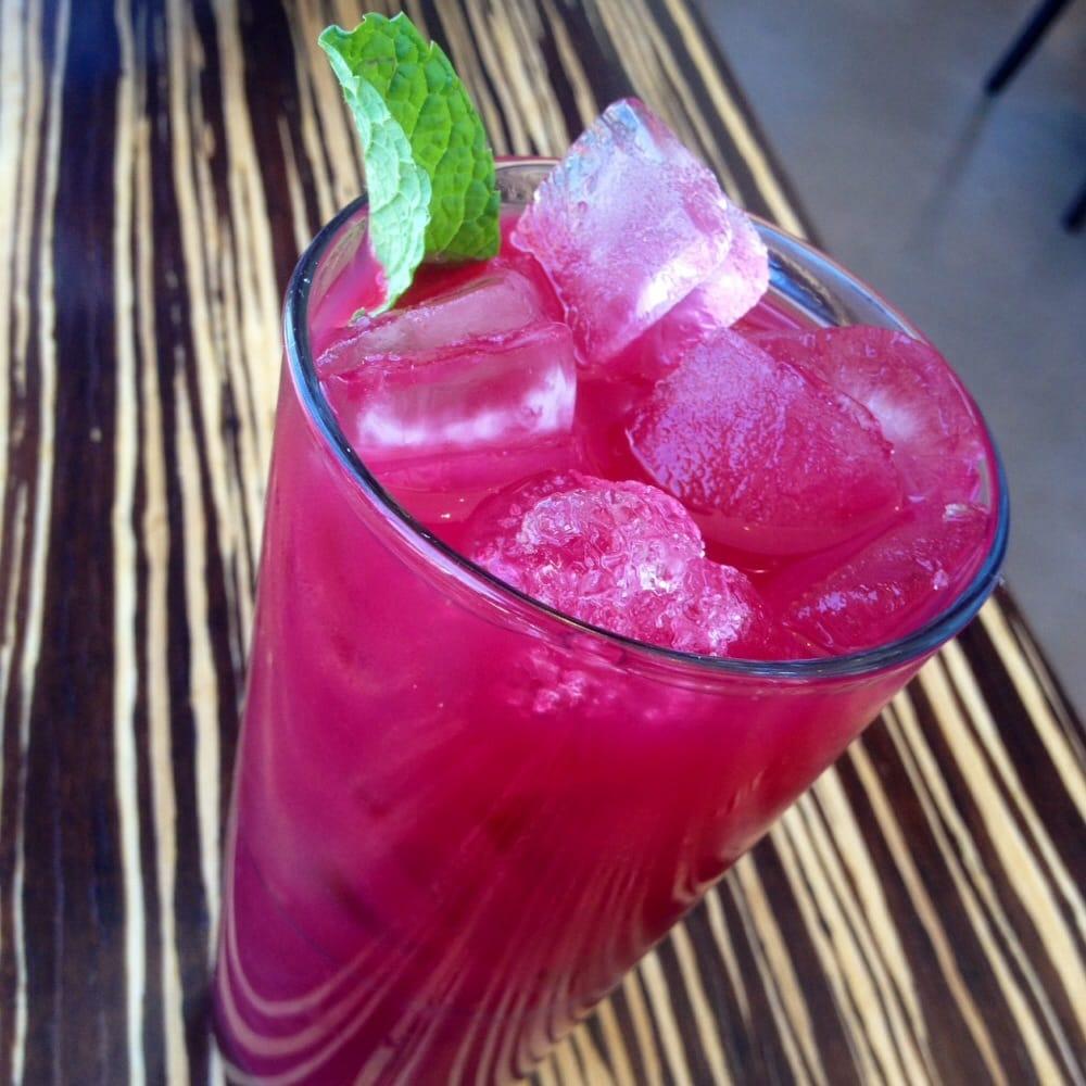 Lyfe Kitchen Yelp: Hibiscus Beet Juice. Yummy & Refreshing!