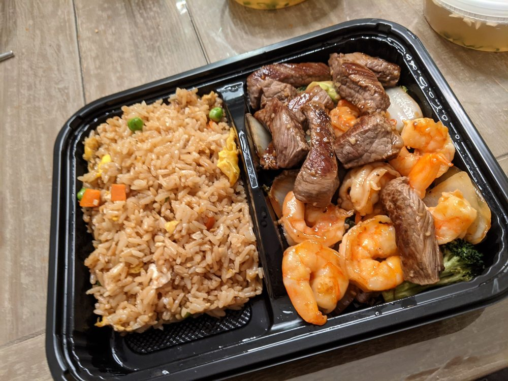 Food from Hibachi Express