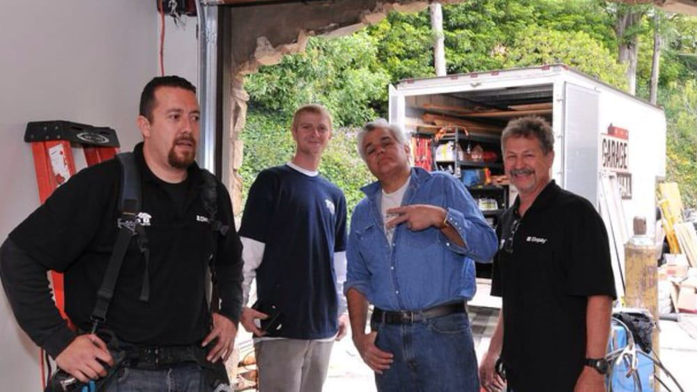At jay leno 39 s house yelp for Garage door repair torrance