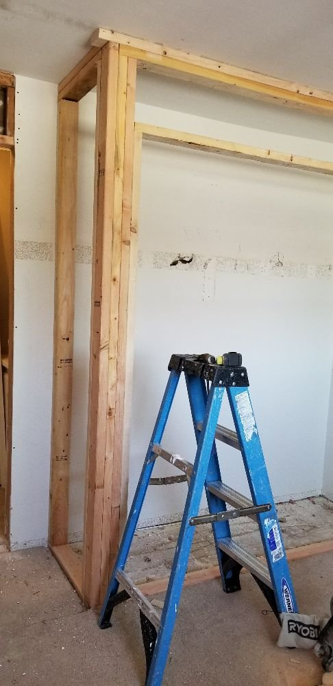 Photo Of JDM Local Handyman   Westminster, CA, United States. Closet Framing  In