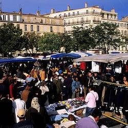 Marché de la Plaine - Marseille, France. Marché de la Plaine