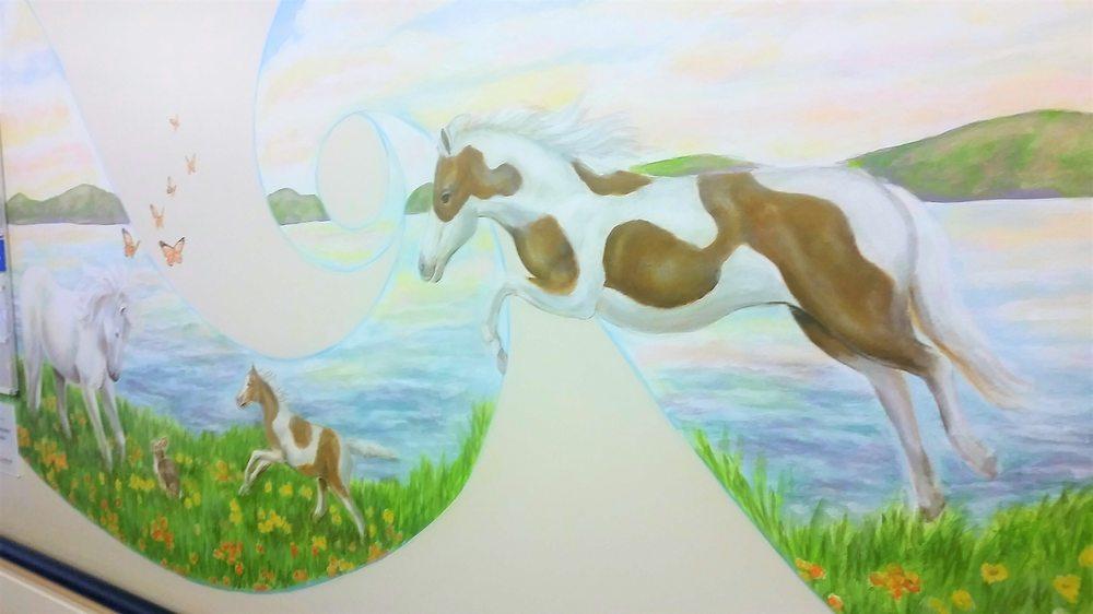 Muralist Horse