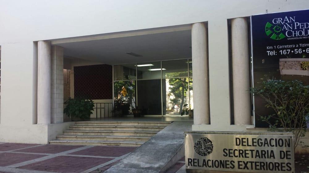 Secretar A De Relaciones Exteriores Servicios P Blicos Paseo De Montejo Zona Paseo Montejo