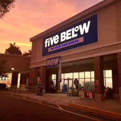 Five Below Discount Store 1544 Governors Square Blvd Tallah Ee Fl Phone Number Yelp
