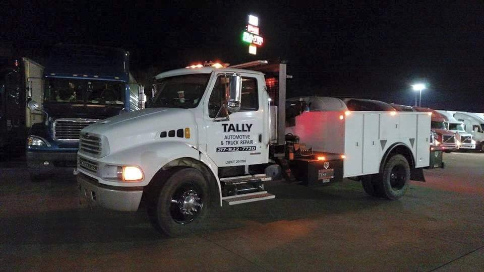 Tally Automotive and Truck Repair: 2600 North York St, Martinsville, IL