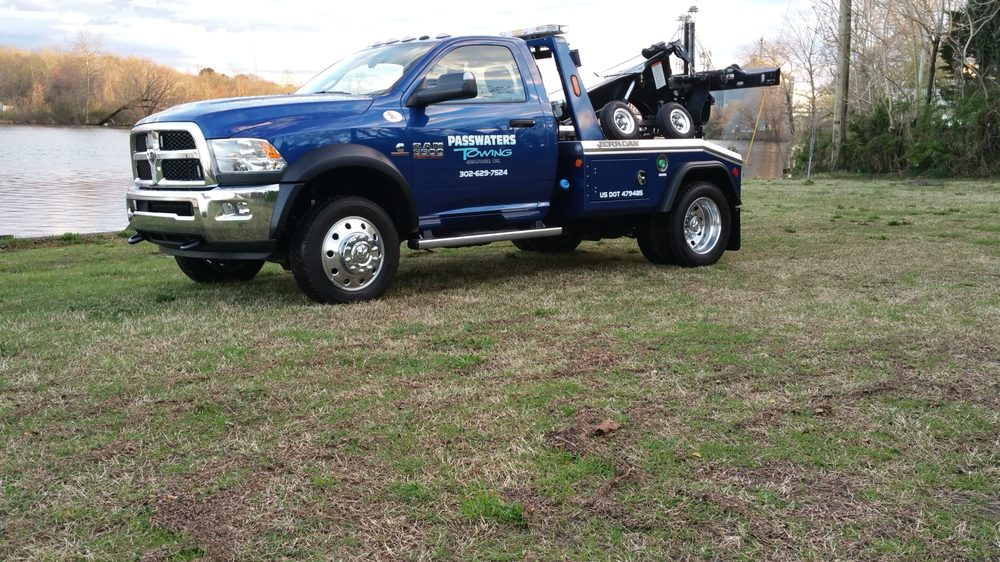 Passwaters Towing: 26822 Sussex Hwy, Seaford, DE