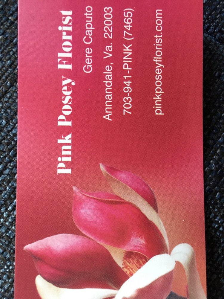 Pink Posey Florist: 7857 Heritage Dr, Annandale, VA