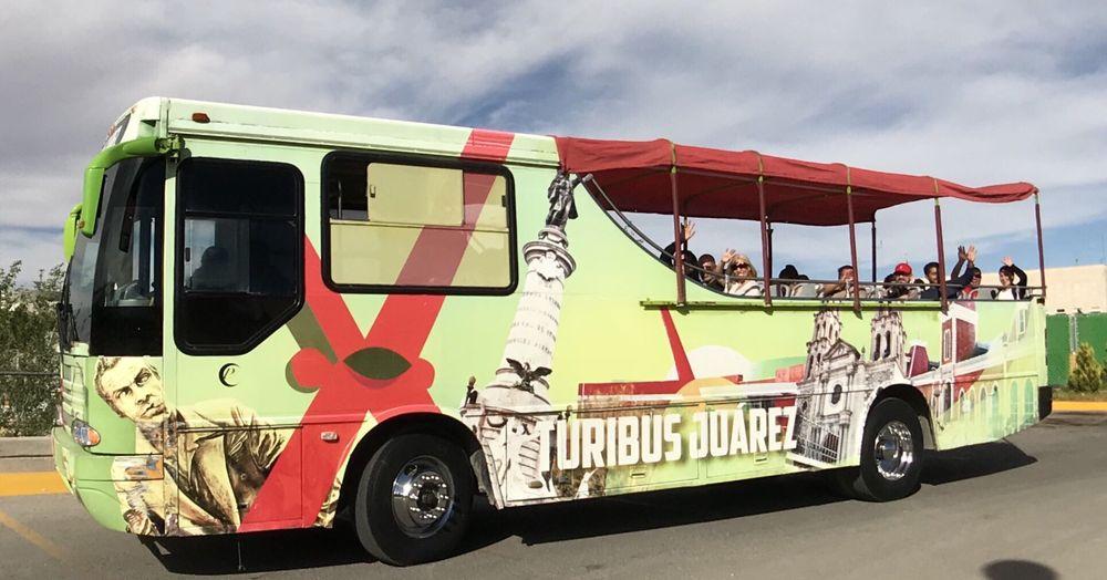 Turibus Juarez: Av. Abraham Lincoln S/N, Ciudad Juárez, CHH