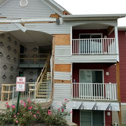 Photo Of Hilltop Apartments   Cincinnati, OH, United States. Construction  Began August 28