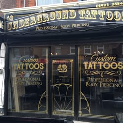 P O Of Underground Tattoos And Body Piercing Watford Hertfordshire United Kingdom Shop