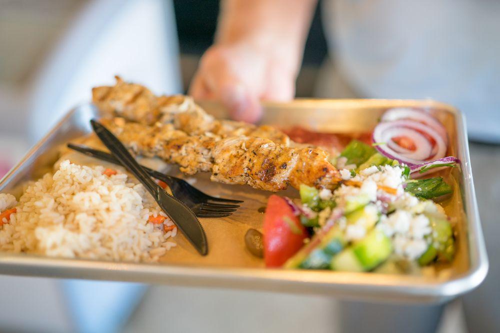 Zeus Greek Street Food: 2022 Powers Ferry Rd SE, Atlanta, GA