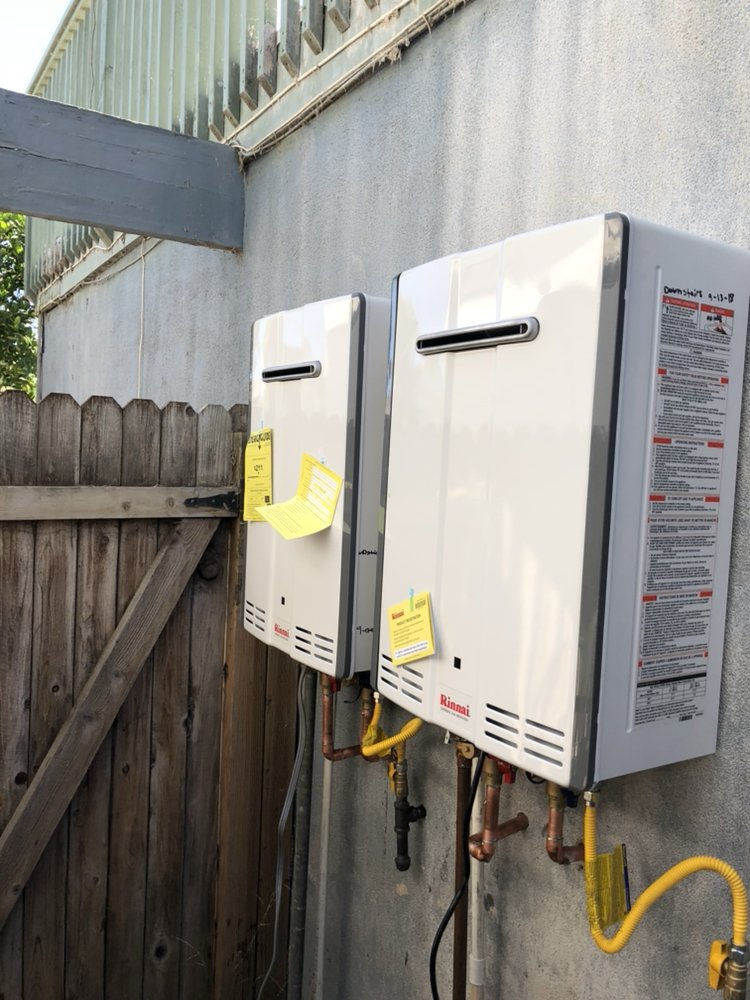 Dual tankless install for duplex in Pierpont, happy tenants! - Yelp