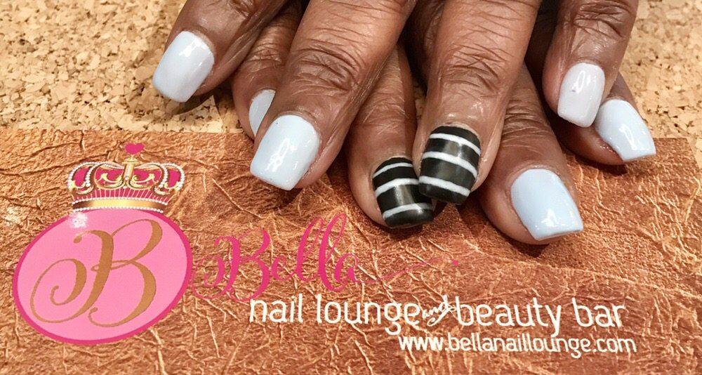 Active length acrylic nails with gel polish and nail art - Yelp