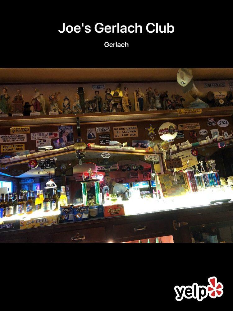 Joe's Gerlach Club: Main St, Gerlach, NV