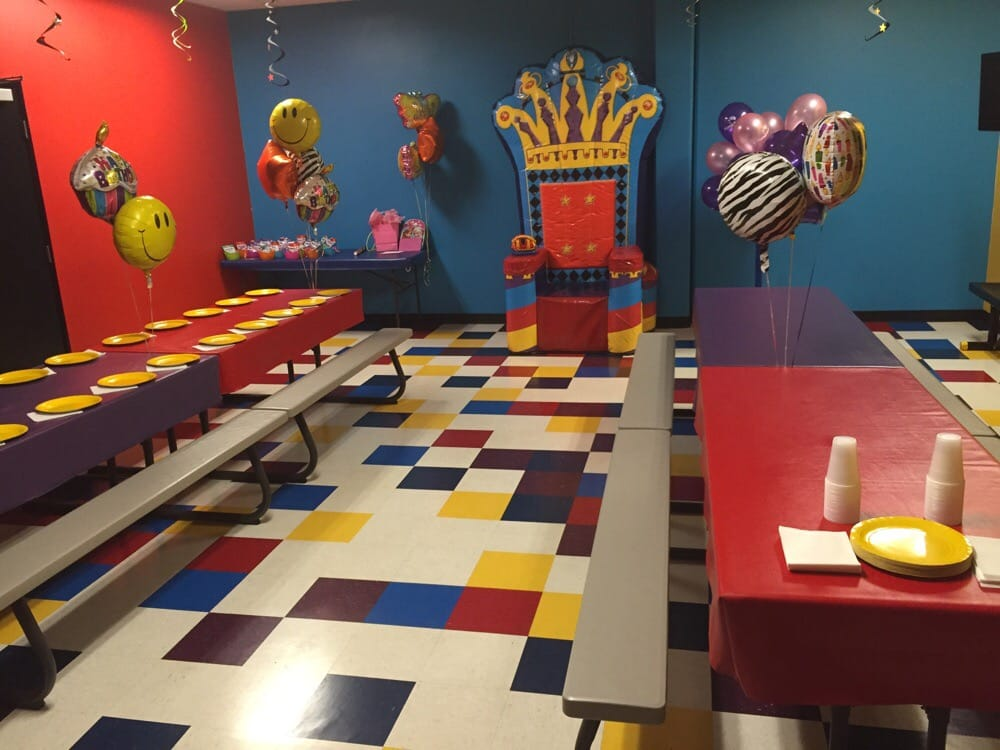 The party room all set up - Yelp